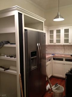 X  X  White Kitchen Cabinet