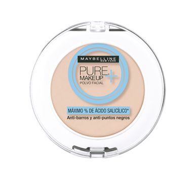 MAYBELLINE Pure MakeUp+ Polvo (Color? - $135 MB)