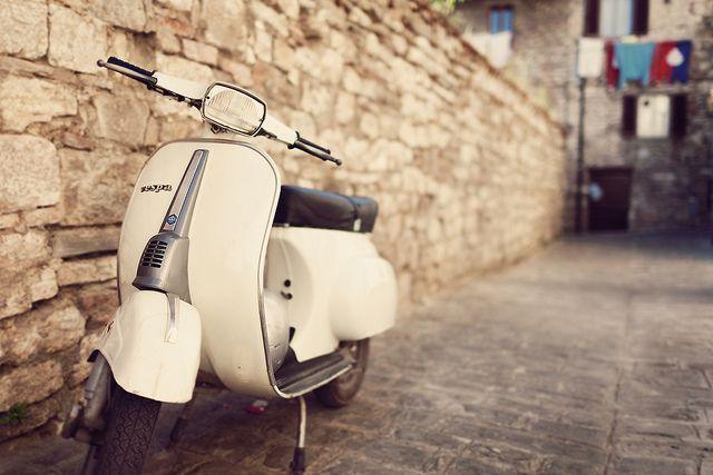 Vespa 50 Special. Gubbio, Italy.