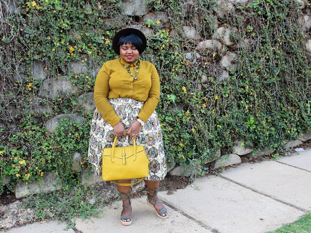 How to wear african print/ankara in a modern way