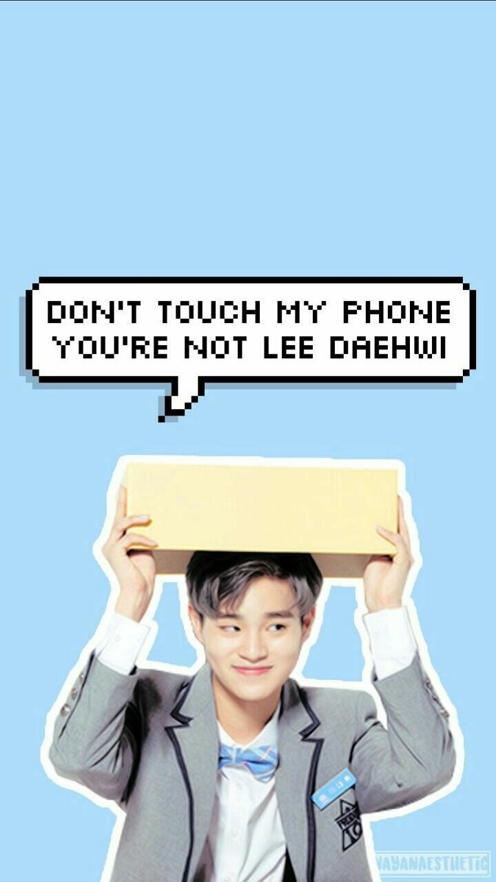 #WannaOne #WannaOneWallpaper #Produce101 #LeeDaehwi Credit to owner