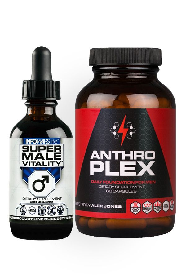 Anthroplex: Introducing the twice daily pill foundation for men that is the perfect pair to Super Male Vitality