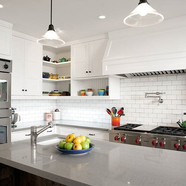 Pebble perfection. JWT Associates creates a chef-grade kitchen with all the perks, including durable Caesarstone Pebble countertops.