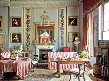Interior, Frogmore, The Mary Moser Room, photographer Christopher Simon Sykes, The Royal Collection copyright 2009 Her Majesty Queen Elizabeth II