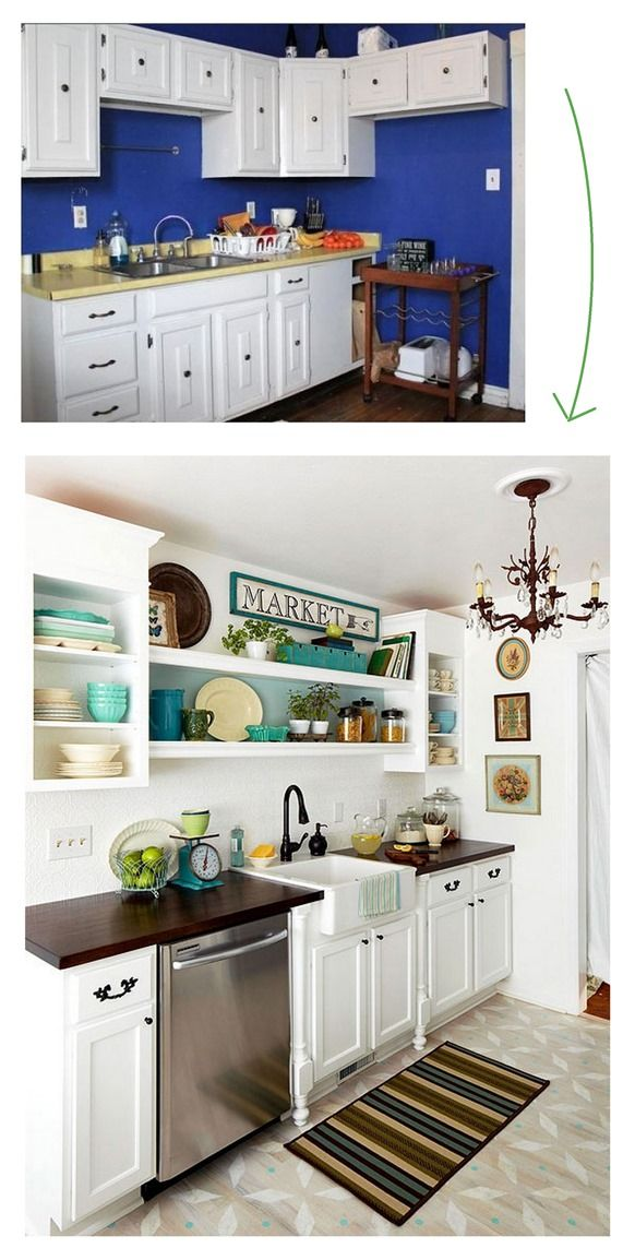 House Hunting Virtual Room Makeovers Open Shelving