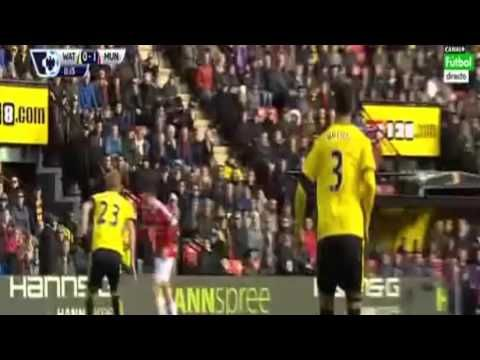 Memphis Depay Goal ~ Watford vs Man Utd 0-1 -  http://www.football5star.com/highlight/memphis-depay-goal-watford-vs-man-utd-0-1/