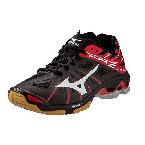 Mizuno Wave Lightning Z Women's Volleyball Shoes - Black & Red (Women's  (*Partner Link)
