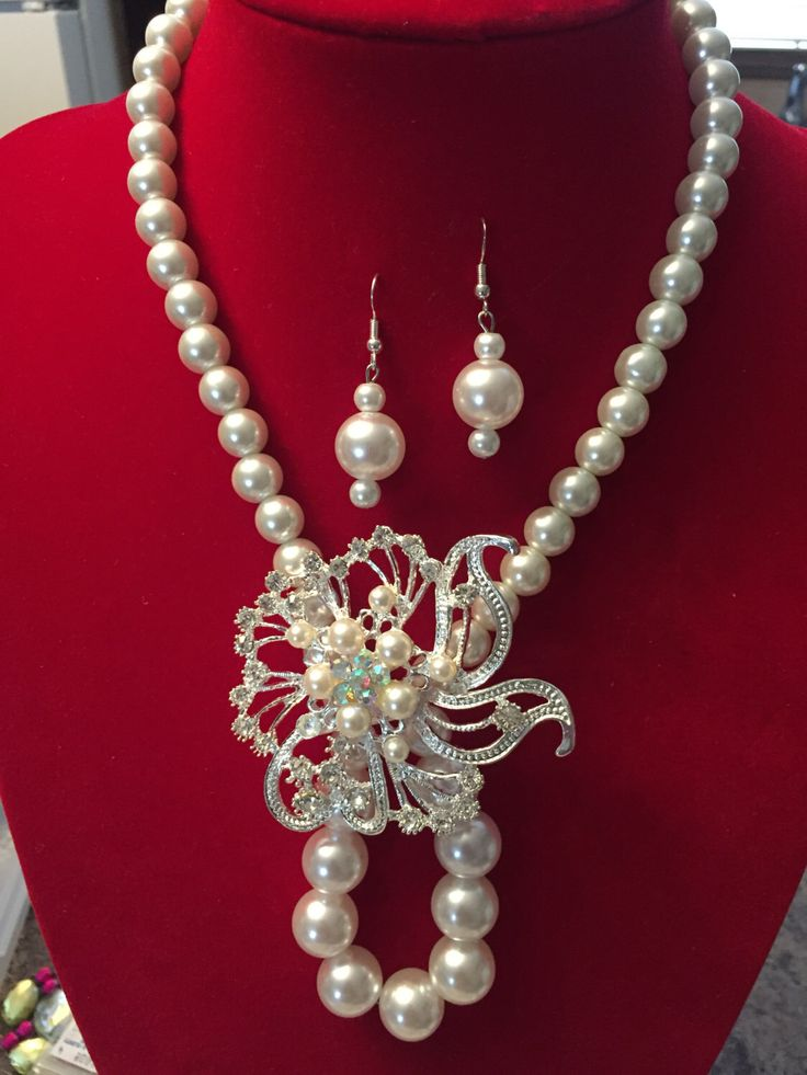 A personal favorite from my Etsy shop https://www.etsy.com/ca/listing/269068662/pearls-glass-and-wood-jewelry-sets