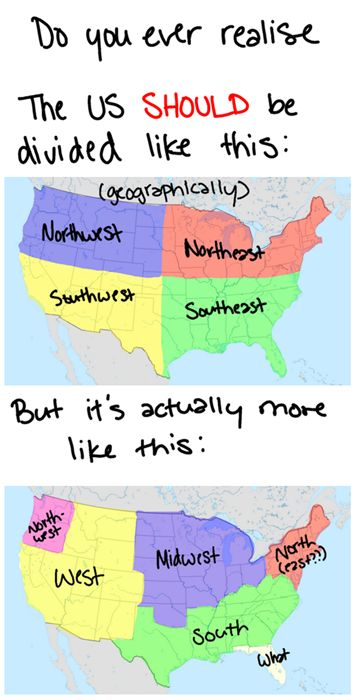 Best Creative Interesting USA Maps Images On Pinterest Usa - Funny maps of the us