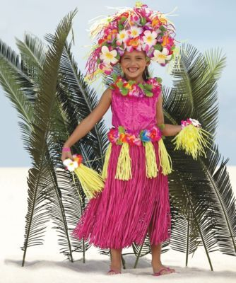 polynesian princess girls costume