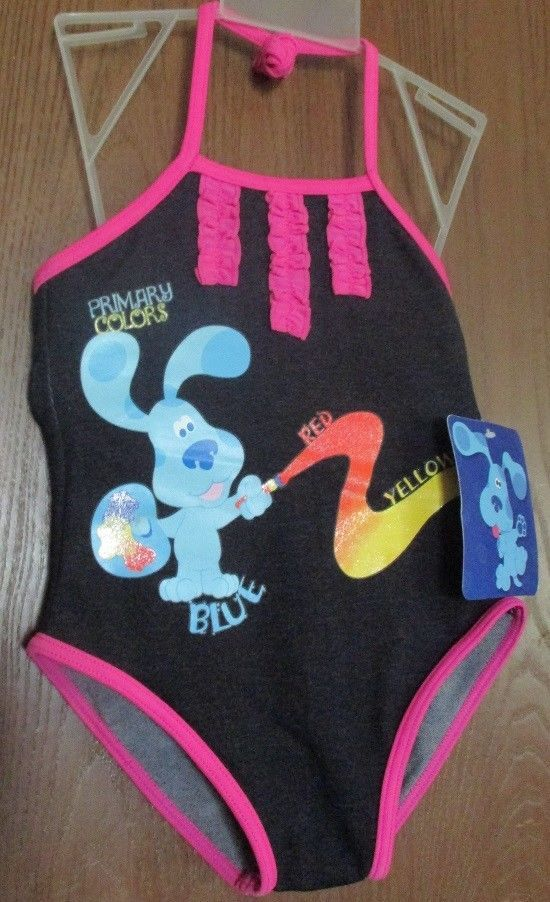 d301a134659ed Blue's Clues Girl's size 4T One Piece Bathing Suit NEW Blues Clues Swim  Suit NWT #BluesClues #BluesCluesSwimsuit #BluesCluesBathingSuit  #GirlsSwimsuit