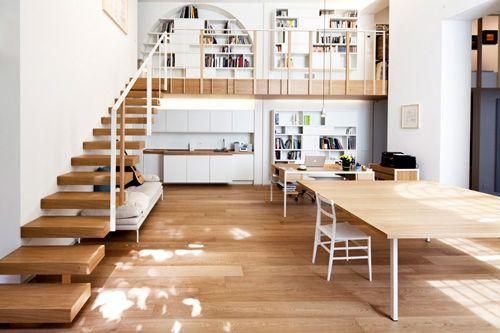 Oficina y hogar en loft decorado con estilo y ambientado para disfrutar cada rincón....