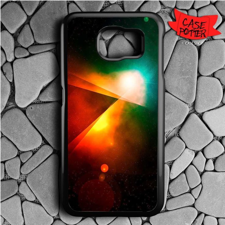 Abstract Outer Space Samsung Galaxy S6 Black Case
