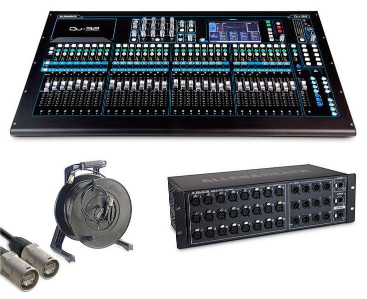 cool Allen & HEATH qu-32 CHROME édition numérique MIXER ET AUDIO Rack Pack   En savoir plus ici http://musik3l.com/allen-heath-qu-32-chrome-edition-numerique-mixer-et-audio-rack-pack/