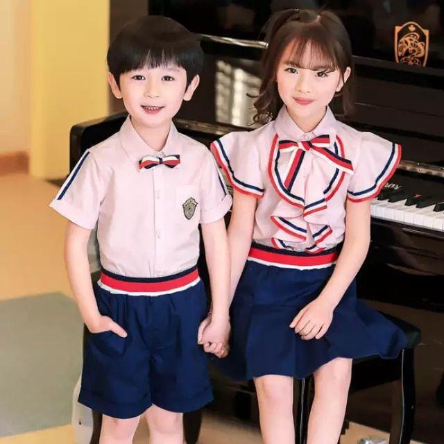 WKDS Girls Children Kids Women White Colour Blouse Shirt Short Sleeve School Uniform