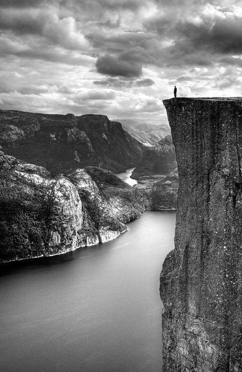 Amazing black and white photo, shows the immense effect of nature.