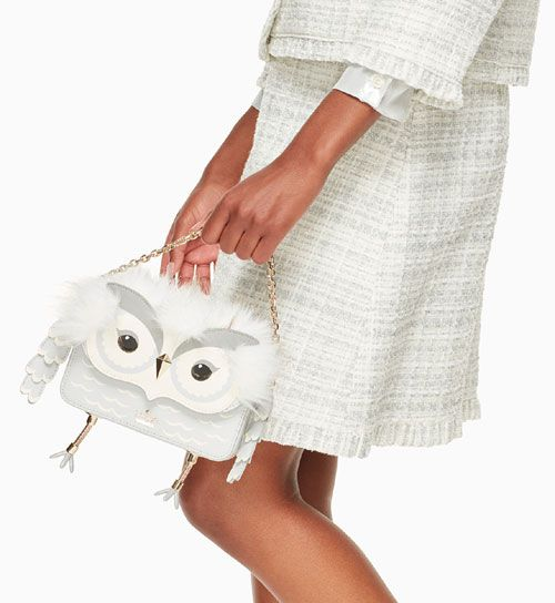 I have featured quirky designs by Kate Spade in the past. Kate Spade AW17 newest collection offers whimsica...