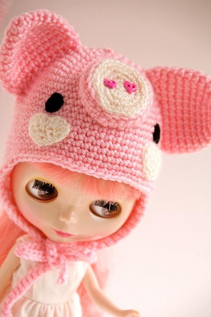 Piggie cap..