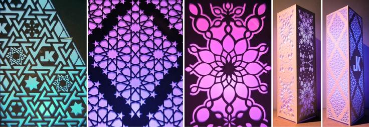 Custom Event Lighting Fixtures (Great for Wedding, Bar Mitzvah's, Social Events)