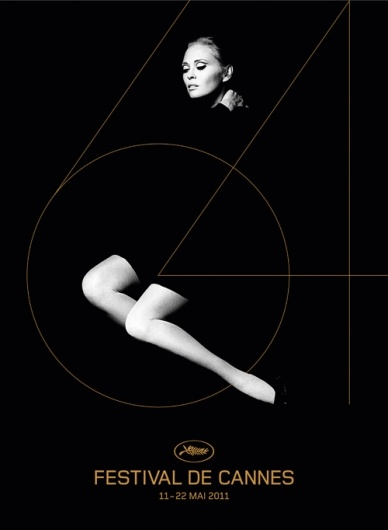 poster by H5 for this year's Cannes Film Festival. the photo of Faye Dunaway used here was shot by Jerry Schatzberg in 1970.