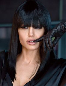 angelina jolie - as Raven Dubrisky ...a.k,a, as Mikhail's lifemate...
