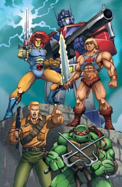 80'S Cartoon Good guys by Dan-the-artguy on @DeviantArt