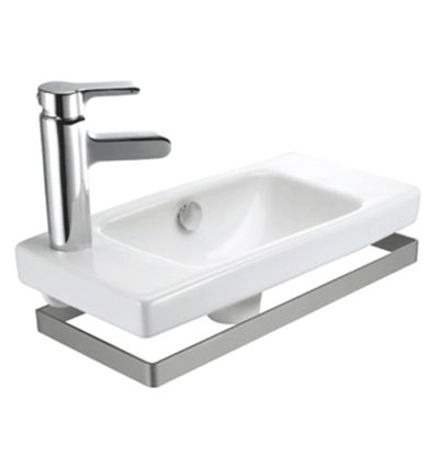 Reach® Towel Bar  Features:    Attractive brushed steel finish;  Convenient towel storage  To fit Reach basin only