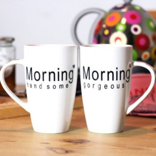 Morning Mugs - Available from www.itsmagic.ie