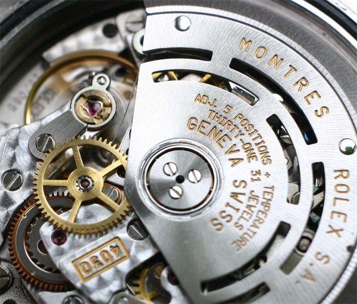 Rolex Daytona Mouvement