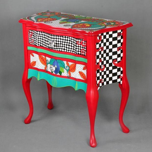 Zdjęcie numer 30 w galerii - Polski projekt: ręcznie malowane meble od Art PoPo
