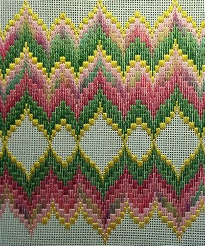 Bargello & Roses Continued | STITCHLADY'S ADVENTURES