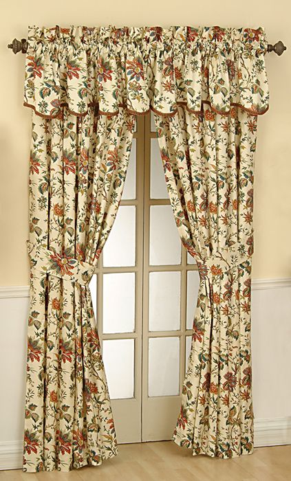 Waverly curtains with a wide range | Drapery Room Ideas