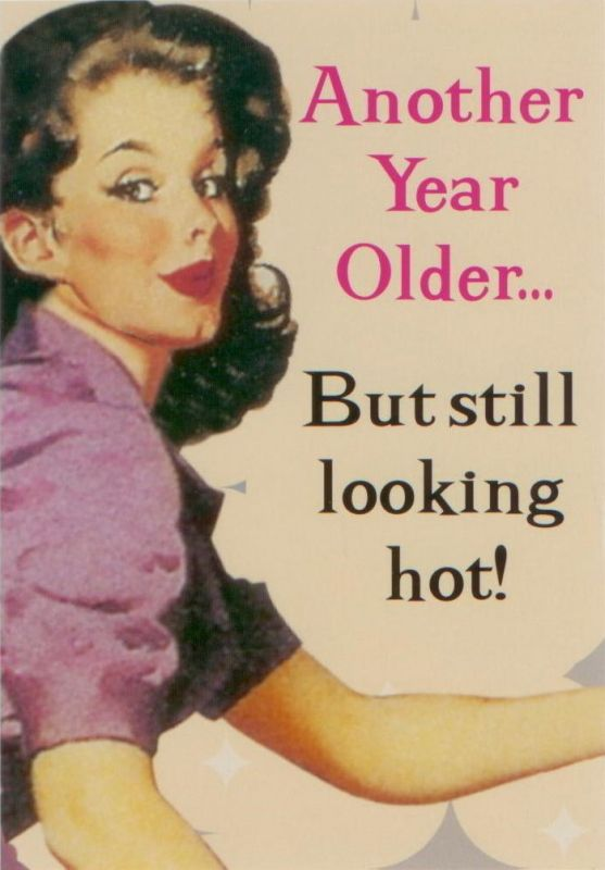 lol...well at least that's what I keep telling myself!! last year in my thirties..determined to make it a good one