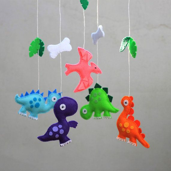 Hey, I found this really awesome Etsy listing at https://www.etsy.com/uk/listing/293387645/felt-dinosaur-crib-mobile-ooak-ready-to
