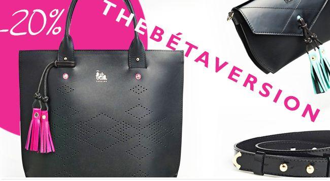 A díjnyertes TheBétaVersion táskák most 20% kedvezménnyel! http://klassz.hu/bolt/thebetaversion