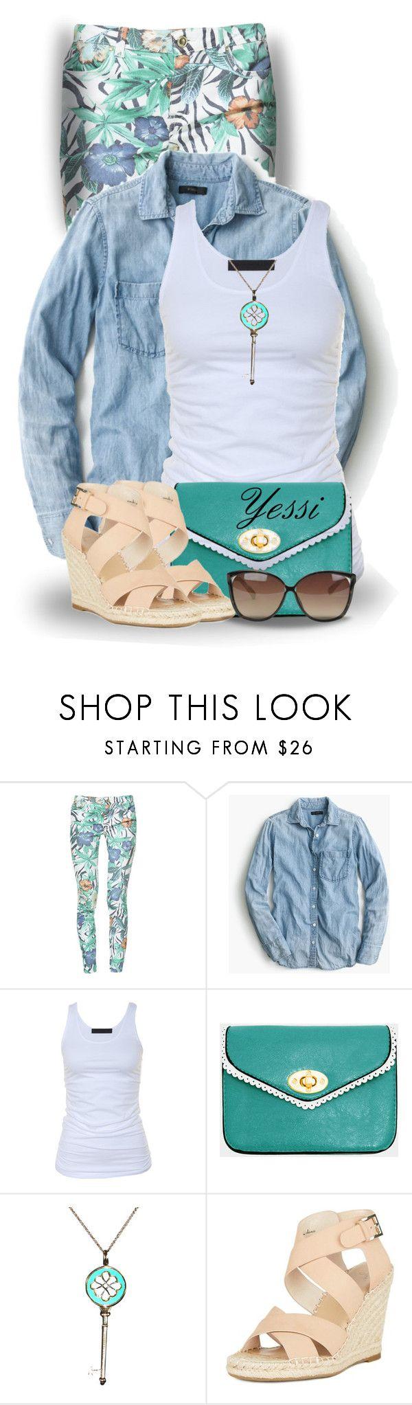 """~ 💕 TEAL Purse, Bag or Tote💕 ~"" by pretty-fashion-designs ❤ liked on Polyvore featuring Zara, J.Crew, Tusnelda Bloch, Tiffany & Co. and Linda Farrow"