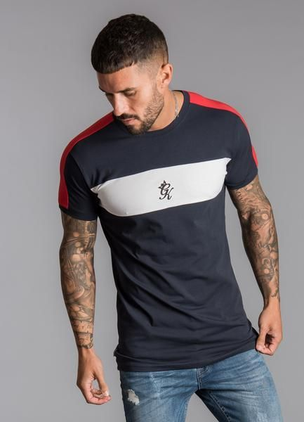 a9a39973 Tee Shirts · Tees, Cotton, Mens Tops, Red Stripes, Navy And White, Gym Men