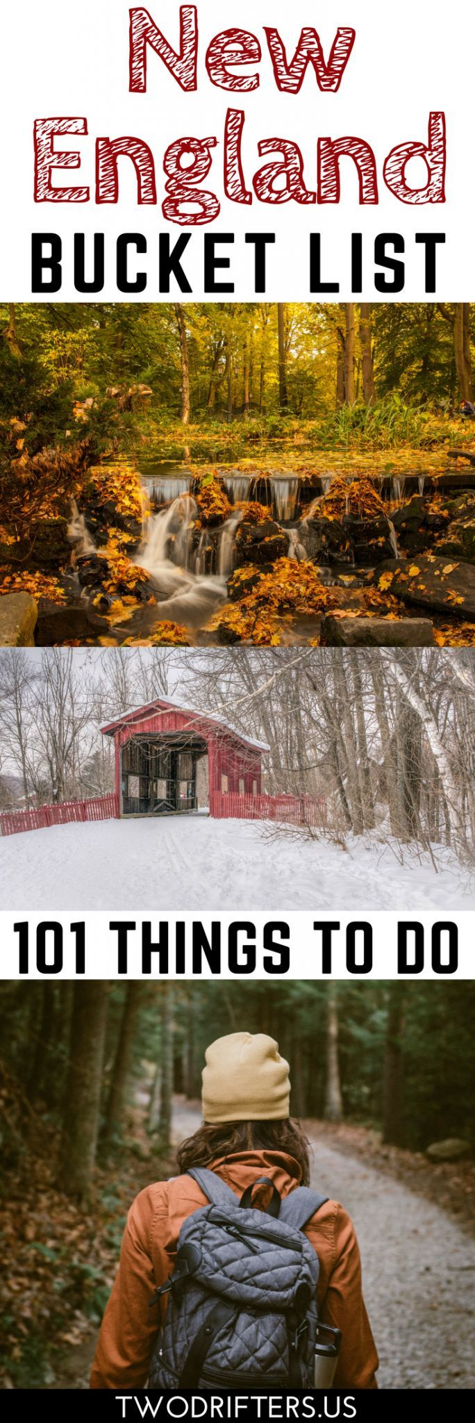There are an endless number of things to do in New England. The 6 states of VT, NH, ME, MA, CT, & RI offer activities galore. Here's 101 of the very best.
