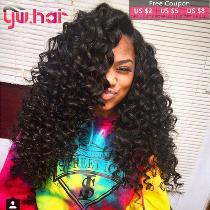 Indian Virgin Hair Natural Wave 3pcs 6A Virgin Indian Curly Hair Raw Virgin Indian Hair deep Wave Virgin Indian Deep Curly Hair