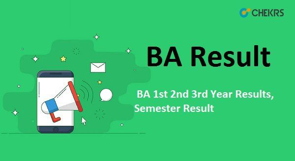 BA Result 2019 – BA 1st 2nd 3rd Year Results, Semester