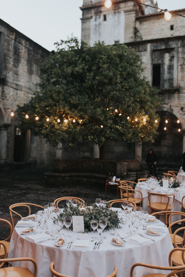 A Minimalist's Wedding in a Portuguese Monastery