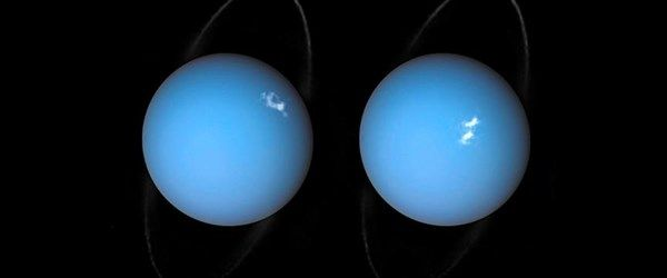 Hubble Uranüs'teki 'auroraları' görüntüledi