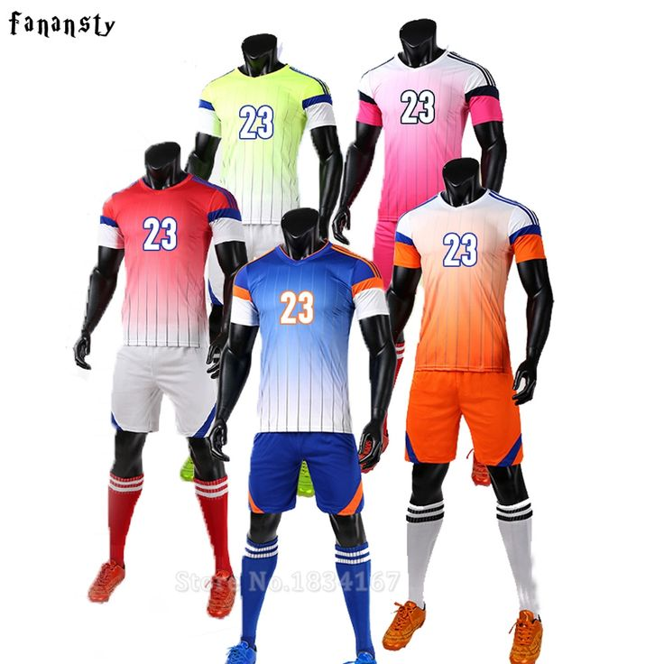 Soccer jerseys men college custom football jerseys cheap soccer set breathable football uniforms kits survetement football 2017