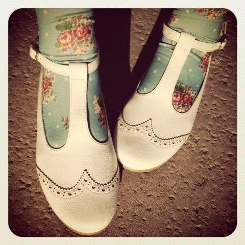 collants et chaussures ... love !