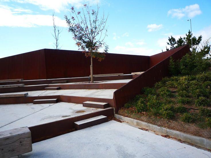 57 best images about urban seating on pinterest trafford for Barcelona jardin botanico