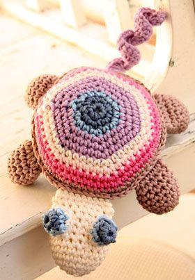 Hækl den sødeste skildpadde