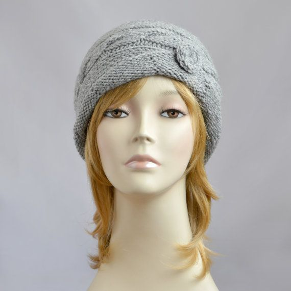 Womens Knit Hat Beanie for Women Winter Hat Knit by SlouchyBeanie