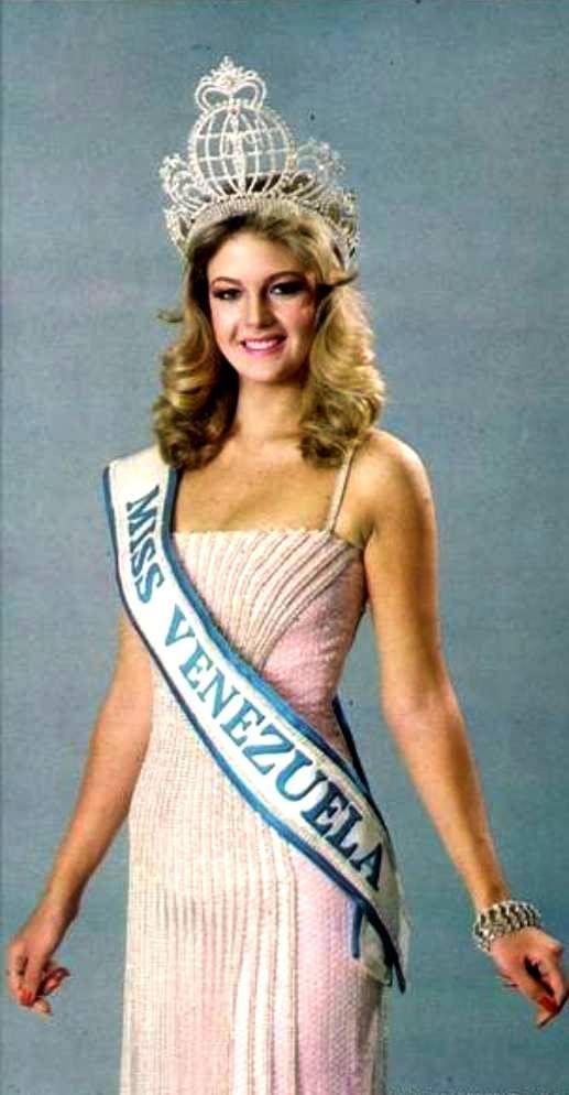 Irene Saez Conde - Miss Universe Venezuela 1981