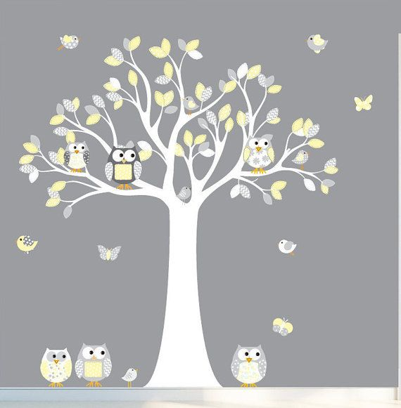 Wall Decals Nursery Nursery Wall Decal Tree by wallartdesign