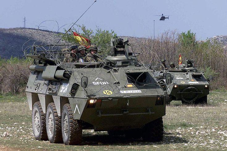 Pegaso BMR-600 6x6 armoured personnel carrier, Spanish Army (Ejército de Tierra), Spain.